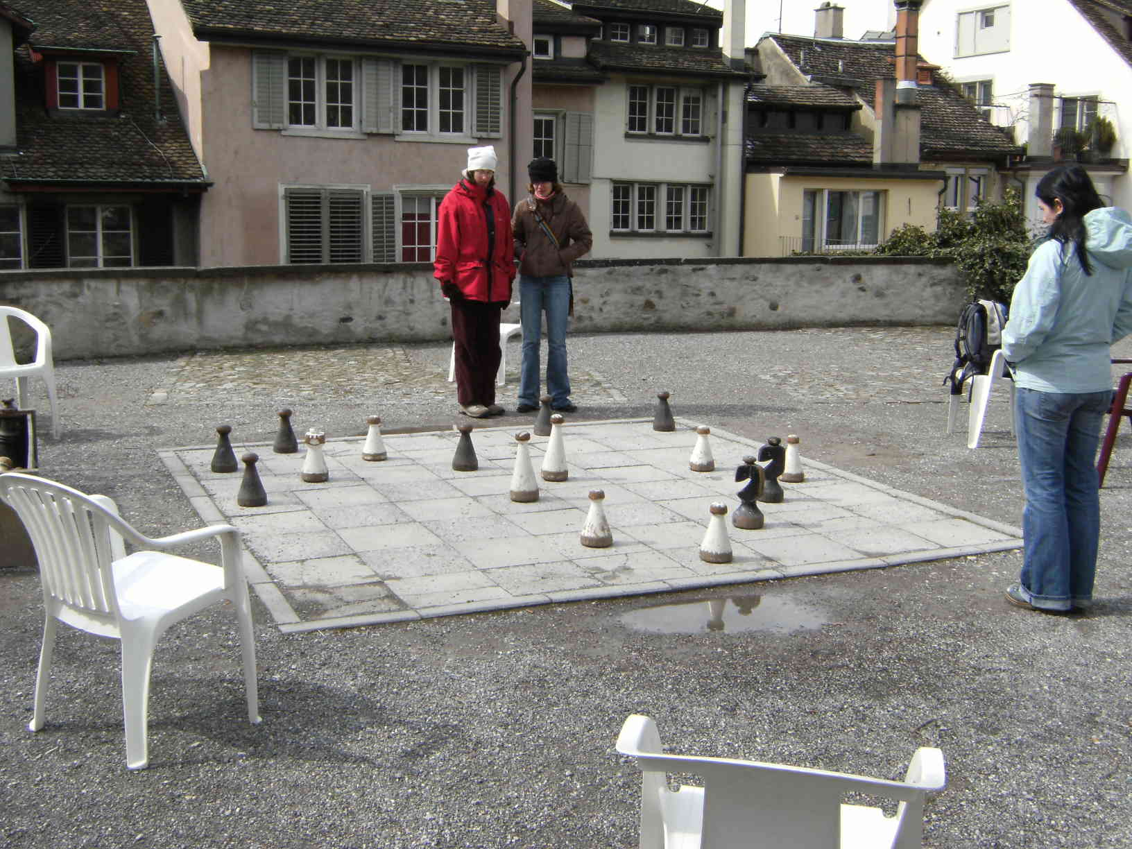 Zürich chess game